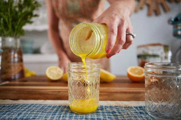 ginger-turmeric wellness shot